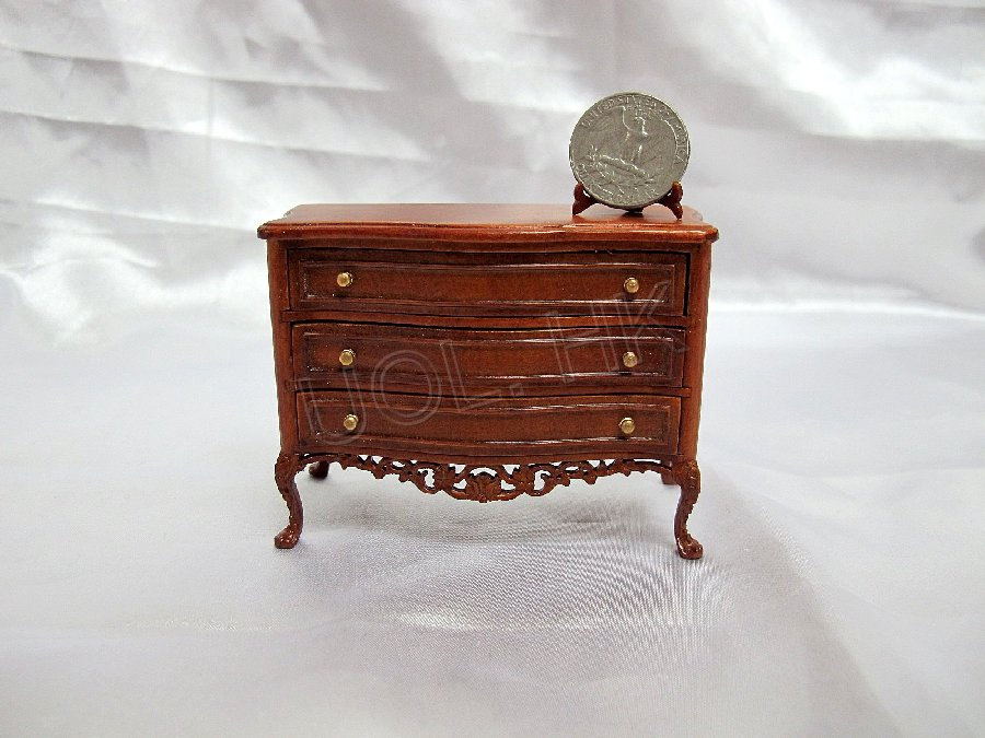 Miniature 1:12 Scale Grande Savoy Chest For Dollhouse [WN]