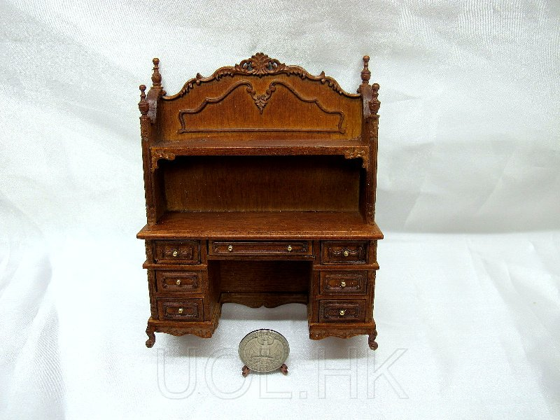1:12 Scale Miniature Doll House Youth Desk