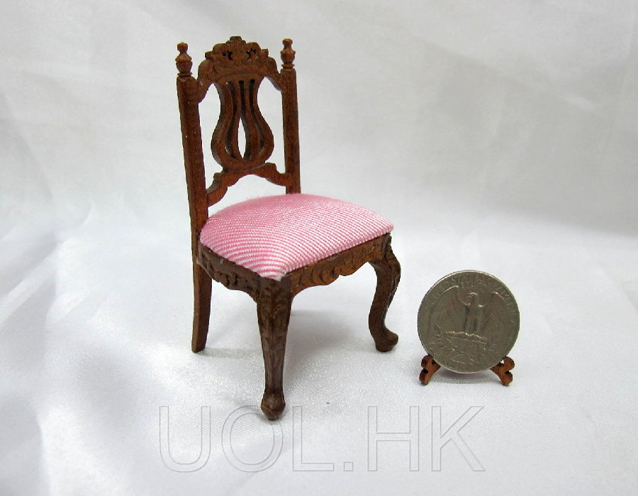 1:12 Scale Miniature Doll House Youth Desk Chair
