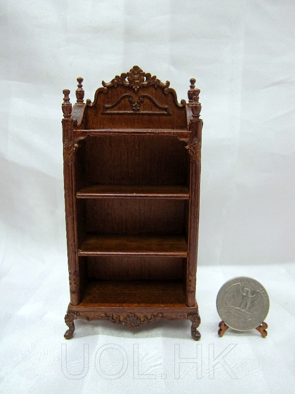 1:12 Scale Miniature Doll House Youth Toy/Book Shelf