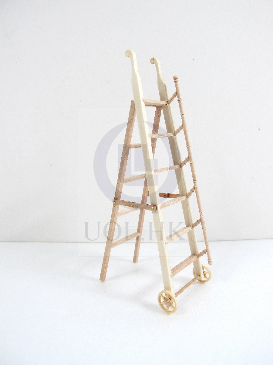1:12 Scale Doll House Miniature library ladder[Unfinished]