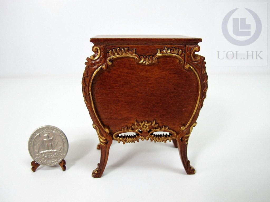 1:12 Scale Miniature Console Table For Doll House