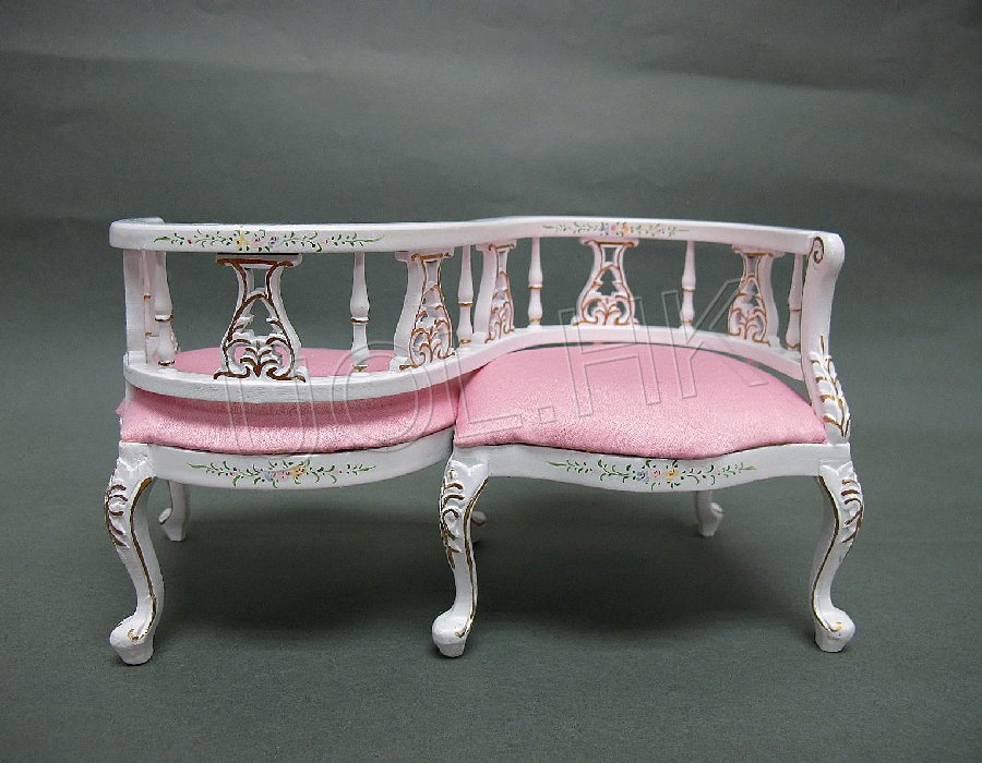 1:6 Scale Lover Chair for fashion royalty ,barbie, Momok dolls