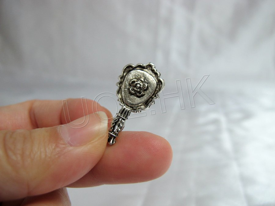"1""Scale Miniature Metal Mirror"