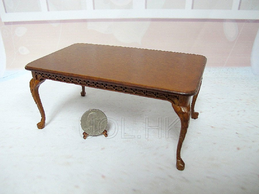 1:12 Scale Miniature La Francesco Dining Table