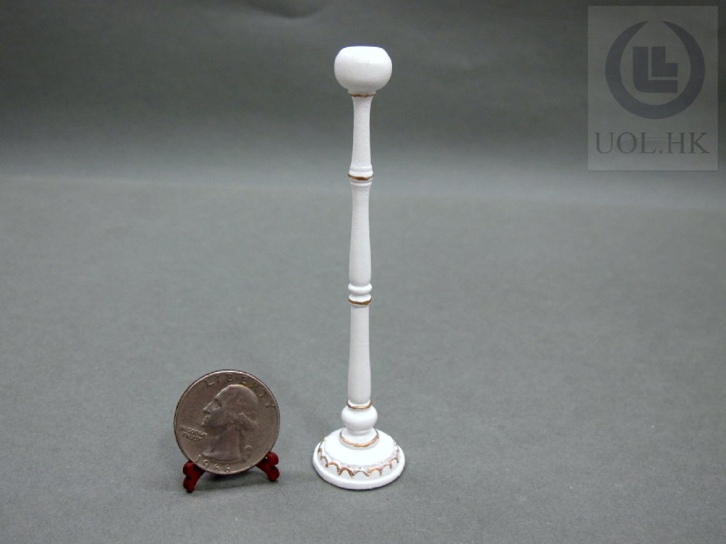 "Miniature Wooden 1""Scale Hatrack For Doll House"