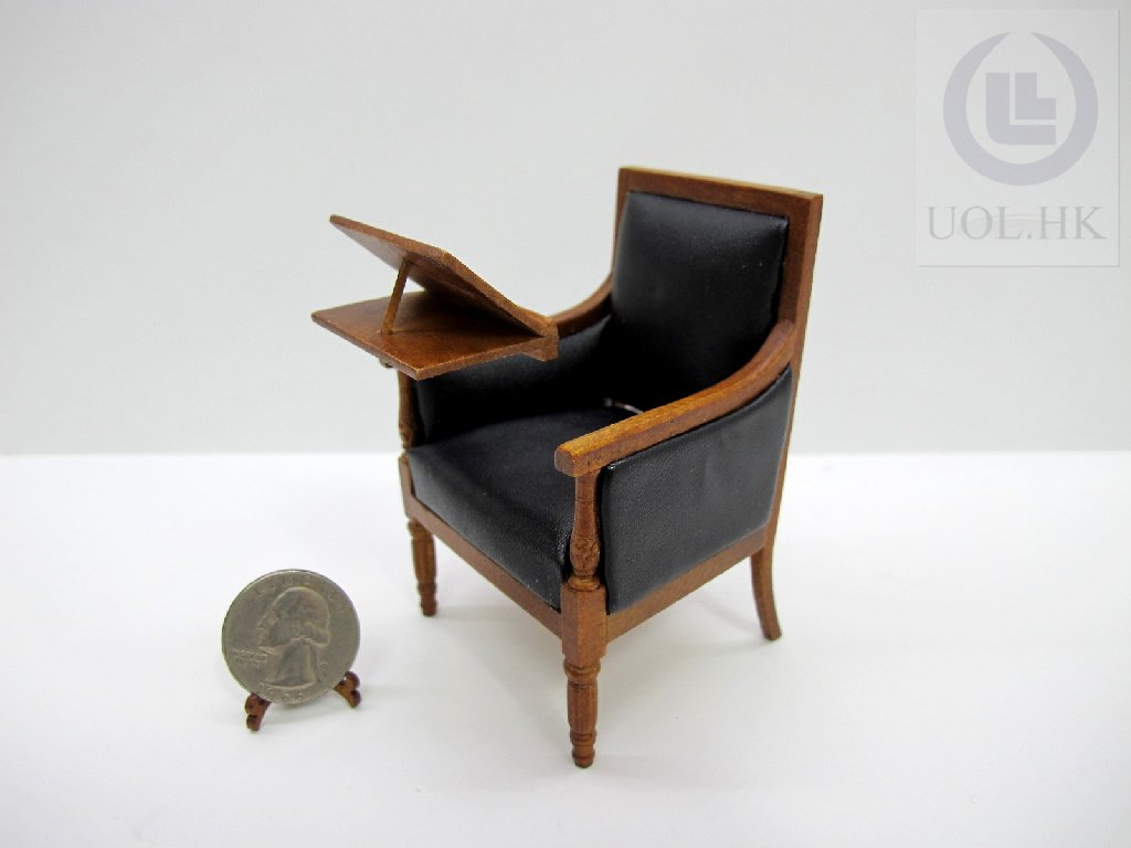 1:12 Scale Miniature Reading Chair For Doll House