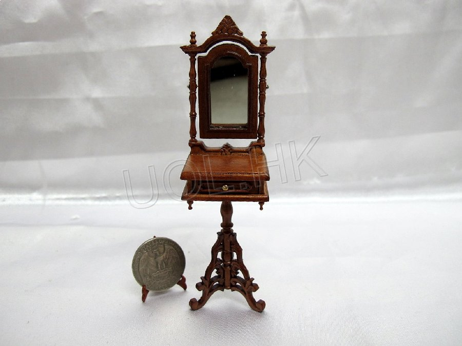 "1"" Scale Doll House  Victorian Shaving Stand"