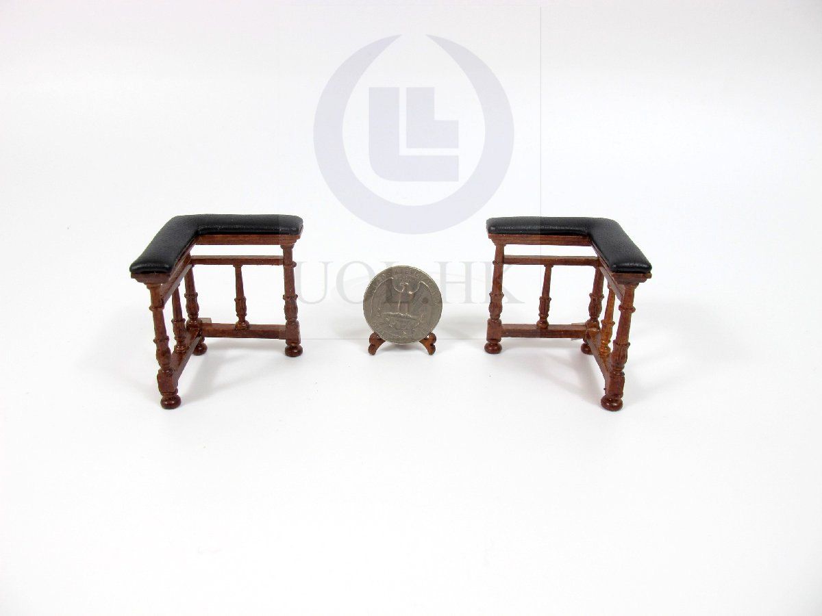 1:12 Scale Miniature Napoleon Fireplace Fenders For Doll House