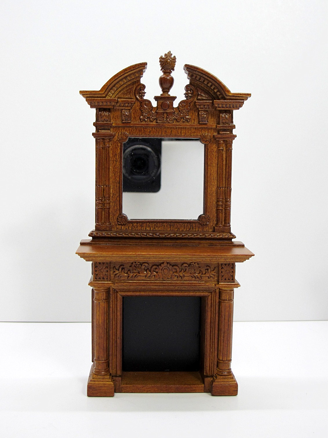 1:12 Scale Miniature Napoleon Fireplace For Doll House--WN