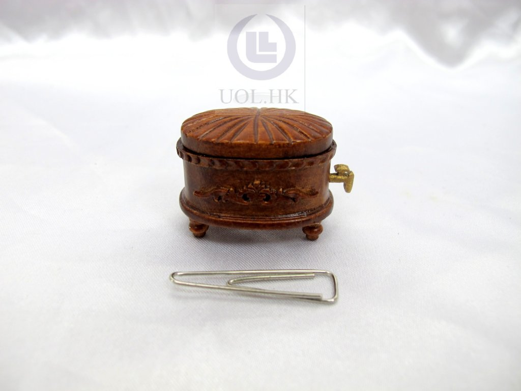 Miniature 1:12 Scale Beer Barrel For Doll House [WN]