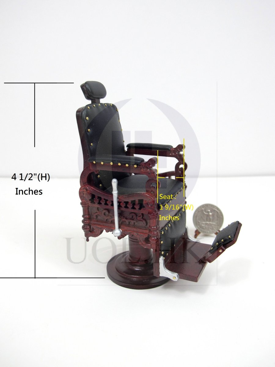 "1:12 Scale Miniature""The Eugene"" Barber Chair For Doll House[MH]"