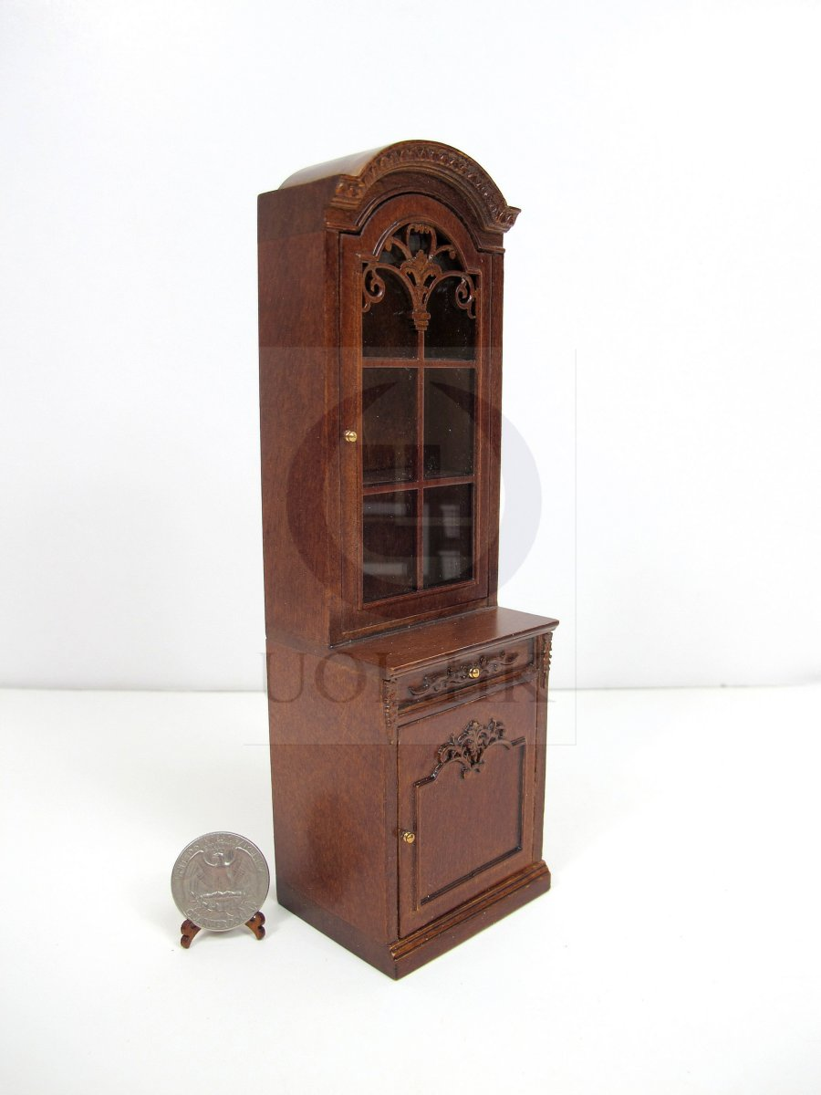 1:12 Scale Left Opened French Provincial Display Cabinet [WN]