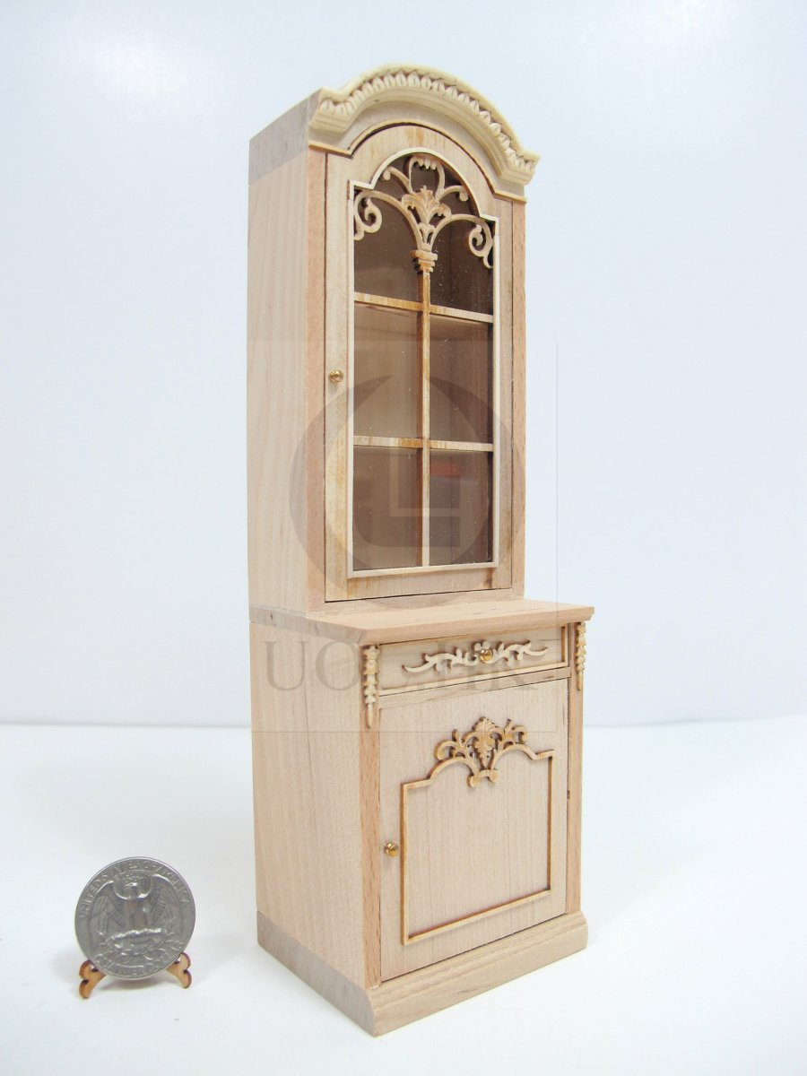 1:12Scale French Provincial Left Opened Display Cabinet [UF]