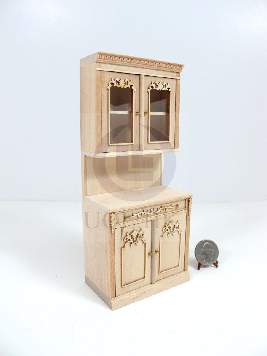 1:12Scale Miniature French Provincial Kitchen Stock Cabinet[UF]
