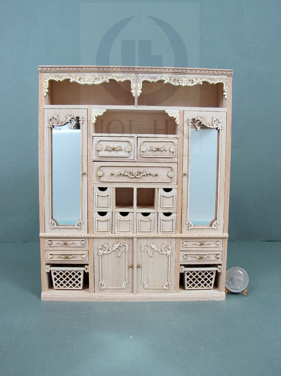 "Miniature 1:12 Scale The ""Adalicia Store"" Main Cabinet [UF]"
