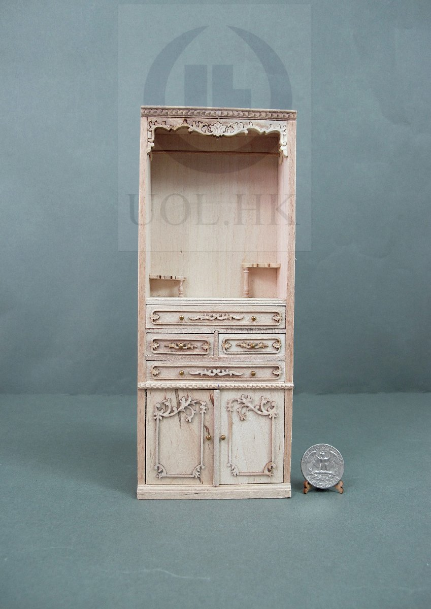 "Miniature 1:12 Scale The ""Adalicia Store"" Open Display Unit -UF"