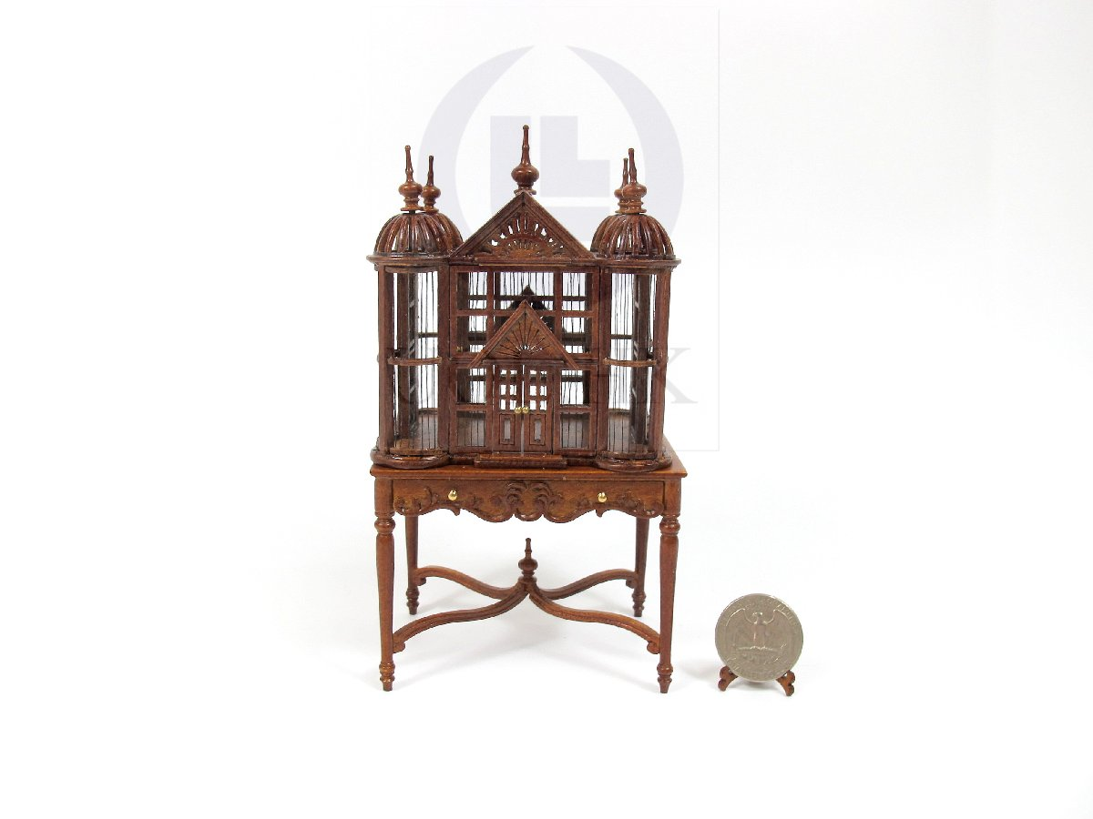 Doll House 1:12 Scale Tudor Birdcage/Birdhouse [WN]