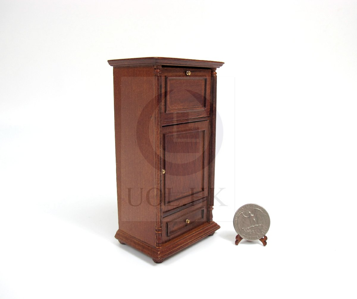 Miniature 1:12 Scale Wine Spirits Storage Bar Cabinet [WN]