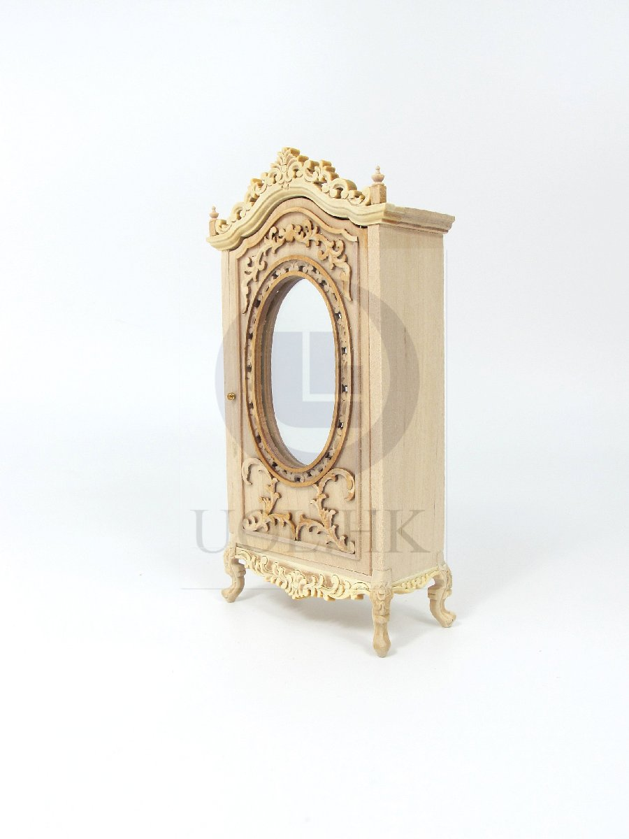 "1:12 Scale Miniature The ""Berit"" Armoire For Doll House [UF]"