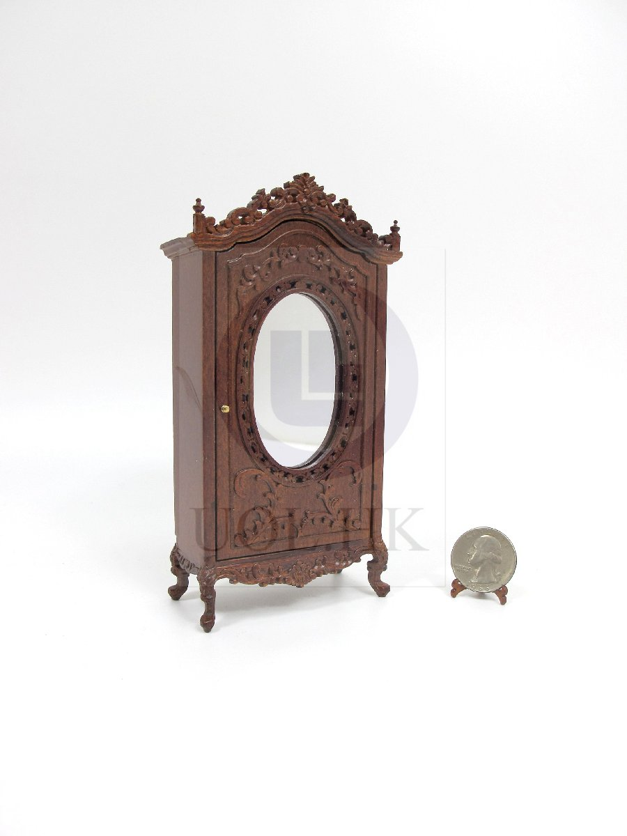 "1:12 Scale Miniature The ""Berit"" Armoire For Doll House [WN]"