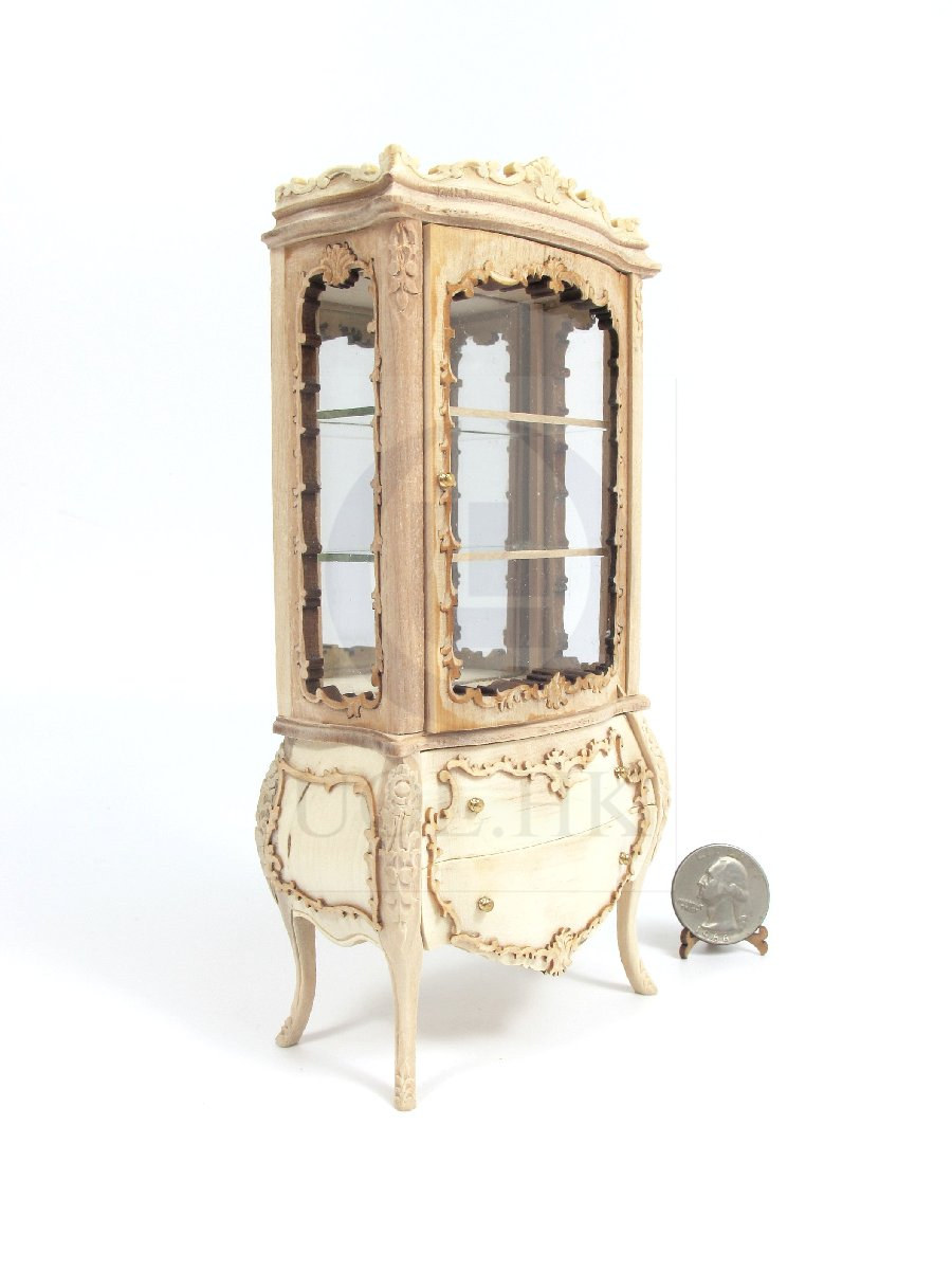 "1:12 Scale The ""Escala"" Display Cabinet For Dollhouse [UF]"