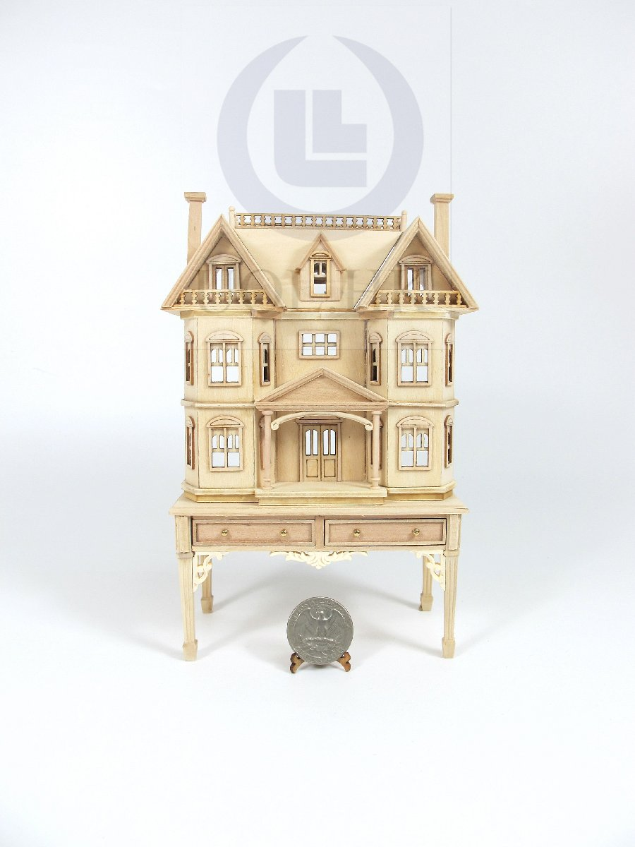 "The ""Rene"" 1:144 Scale House Sits On 1:12 Scale Table [UF]"