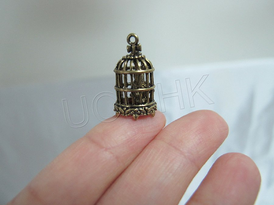 1:24 Scale Metal Small Birdcage