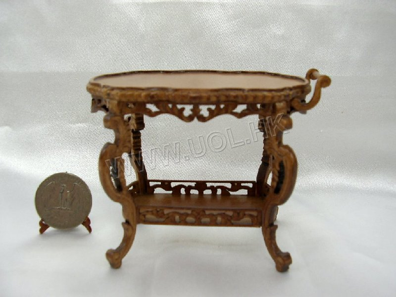 1/12th Scale Roosevelt Butler Serving table for doll house