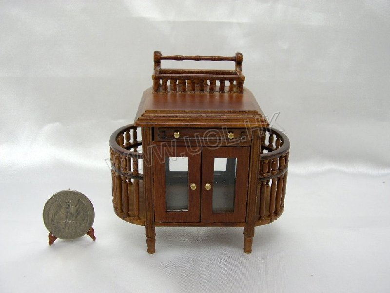 Miniature serving car for doll house-10308